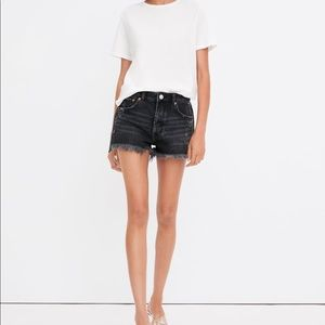 Zara Trafaluc High Rise Jean Shorts